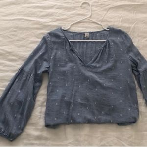 Blue Old Navy Blouse